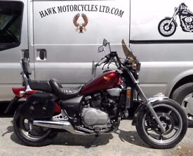 DEPOSIT RECEIVED RARE CLASSIC 1985 HONDA VF700C MAGNA ONLY 19279 MILES, SCREEN, BAGS