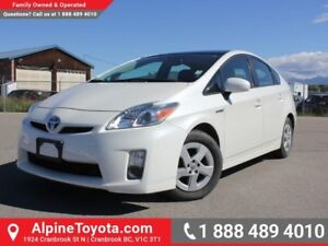 2010 Toyota Prius 5DR HB  Low Kms - Sunroof