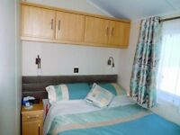Beautifull 3 bedroom caravan to hire on popular holiday park all dates currently available