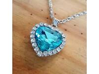 Blue Heart Of The Ocean Necklace