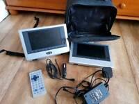 Polaroid PDU-2729 Dual screen Portable DVD
