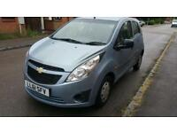 Chevrolet Spark 1.0 petrol long mot £30 road tax per year 5doors