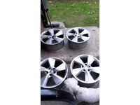 Set of seat alloys for sale 17 18 inch 4,here