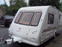 Elddis Hurricane Two Berth Touring Caravan