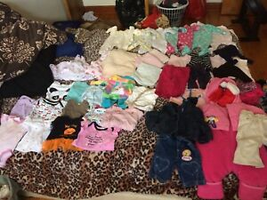 Girls variety baby clothes