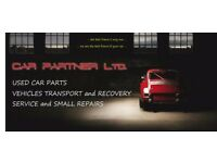 CARS TRANSPORT / RECOVERY / VEHICLE SERVICE / SMALL REPAIRS / USED CAR PARTS SALE -------CHESTER---