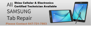 We Repair Samsung Tablet Digitiser (Glass) & Charging Port