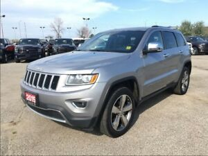 2015 Jeep Grand Cherokee LIMITED**LEATHER**NAV**SUNROOF**BLUETOO