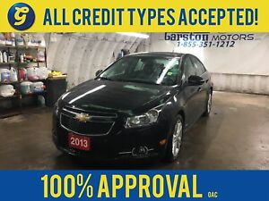 2013 Chevrolet Cruze LTZ*TURBO*NAVIGATION*LEATHER*POWER SUNROOF*