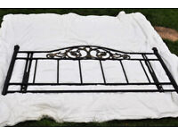 Lovely Wrought iron bed look frame