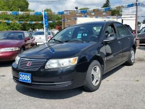 2005 Saturn Ion Base,STICK!,low kms!