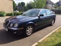 JAGUAR S-TYPE V6 2002 PRIVATE PLATE FULL SERVICE HISTORY FROM JAGUAR FULLY LOADED