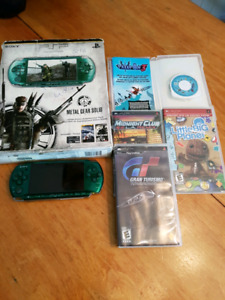 Sony PSP 3000 Limited Edition Metal gear solid peace walker
