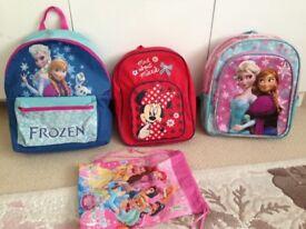 Kids backpack x3