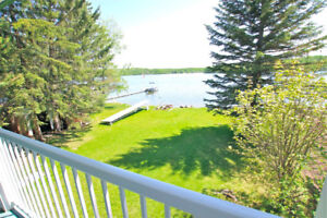 RARE LAKEFRONT HOME ON AMISK LAKE! CUSTOM BUILT WALKOUT BUNGALOW