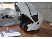 Shoei Neotec helmet - M size - White - Excellent Condition