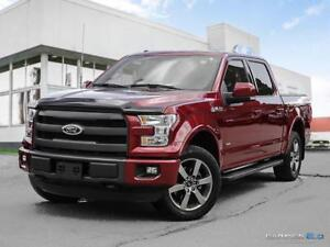 2015 Ford F-150 $333 b/w tax in   Lariat   Navigation   Leather