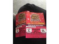X2 Tickets