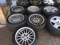 "17"" GENUINE BMW M3 M5 ALLOY WHEELS SET OF 5 STYLE 32"