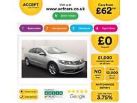 Volkswagen CC FROM £62 PER WEEK!