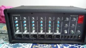 Fender LX-1506 Powered 6-Channel Mixer with Reverb - LX-1506