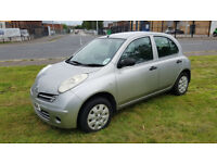 £1295,2006 NISSIAN MICRA,1240CC LOW INSURANCE,,clio,corsa,mini,c1.c2.c3.yaris,polo,fiesta,lupo,kia