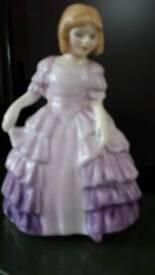 Royal doulton lady (rose)