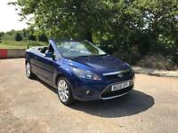 FORD FOCUS CC CONVERTIBLE DIESEL 2008 LEATHER.. ONLY DONE 70K WITH FULL HISTORY.. 1 LADY OWNER