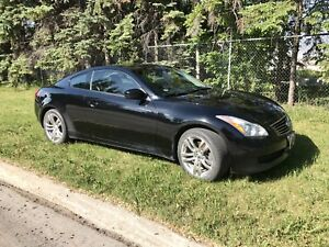 2009 Infinit G37X AWD coupe  (saftied)