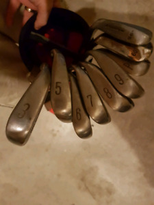 Right handed irons