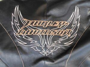 Womens Harley Davidson Black Lambskin Jacket