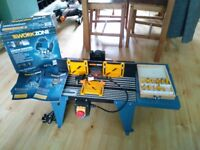 Workzone router table and router