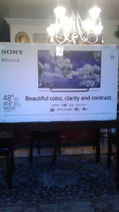 "SMART TV SONY BRAVIA 48"" SLIM $510"