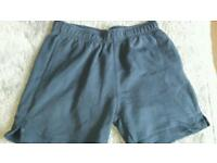 Girls Next navy pe shorts age 9