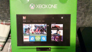 Xbox One with four games, Kinect, Controller + Charger