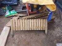Easy Garden boarder 8 100cm length ( new)