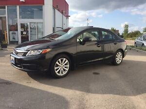 2012 Honda Civic EX-L! Full leather/Sunroof/Nav/Command start!