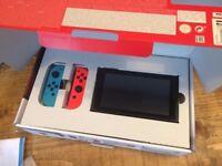 Neon Nintendo Switch - NEW - never opened