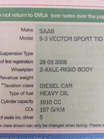 For sale Saab 9-3 Vector Sport Tid
