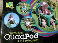 Quad pod swing from TP