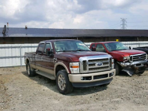 F250 parts (2010)  ----REAR DAMAGE----