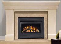 fireplaces, installs, conversions, hookups Peterborough