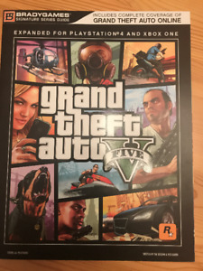 Grand theft auto V GTA 5 guide de strategie neuf