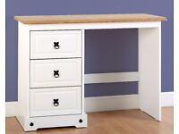 New White or Grey Corona Dressing table £125 Stool £29