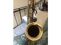Blessing Tenor Saxophone plus case