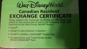 DISNEYWORLD ORLANDO -  5 X 5 DAY PASSES (NEVER EXPIRE)
