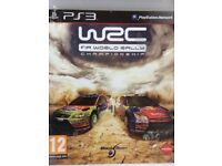 PS3 WRC Driving game
