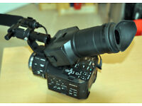 SONY NEX-FS100EK SUPER 35MM SENSOR CAMCORDER (BODY ONLY) SUPERB CONDITION/ LOW USAGE WITH EXTRAS