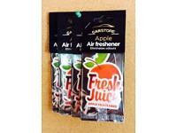 x4 Pack (Apple Fragrance) Air Fresheners