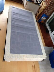 Single Box Spring and Bedframe